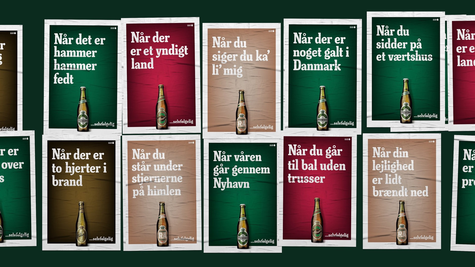 Tuborg-Posters